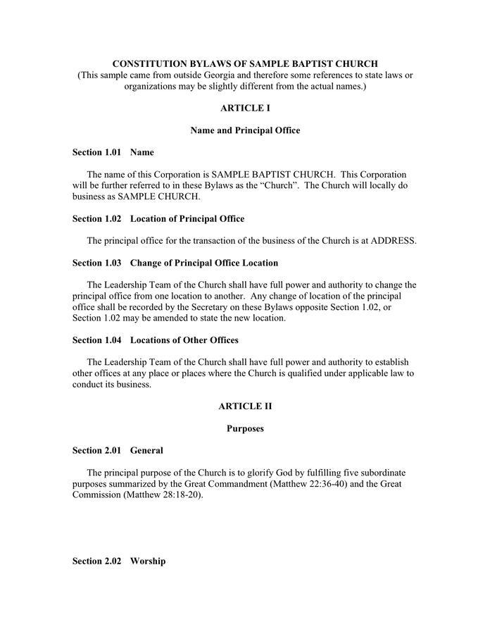 Church Resolution Sample Deceased Member