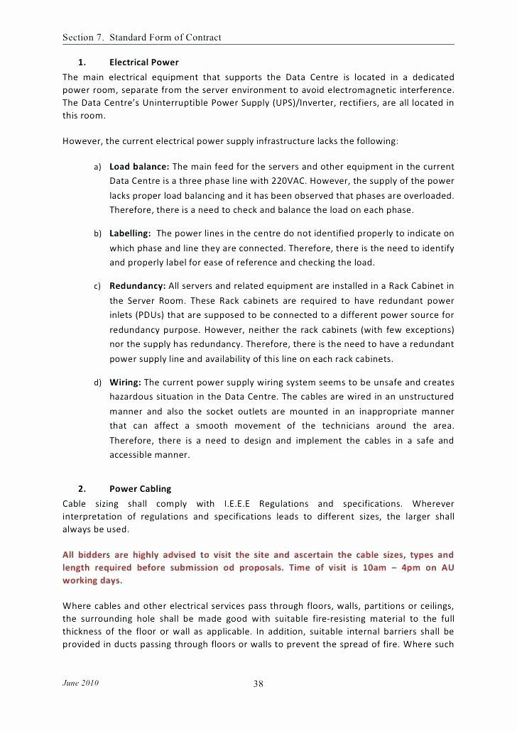 Construction Contract Template Microsoft Word
