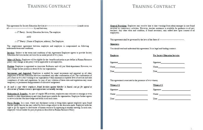 Contract Farming Agreement Template