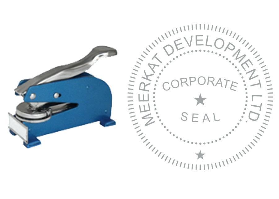 Corporate Seal Design Template