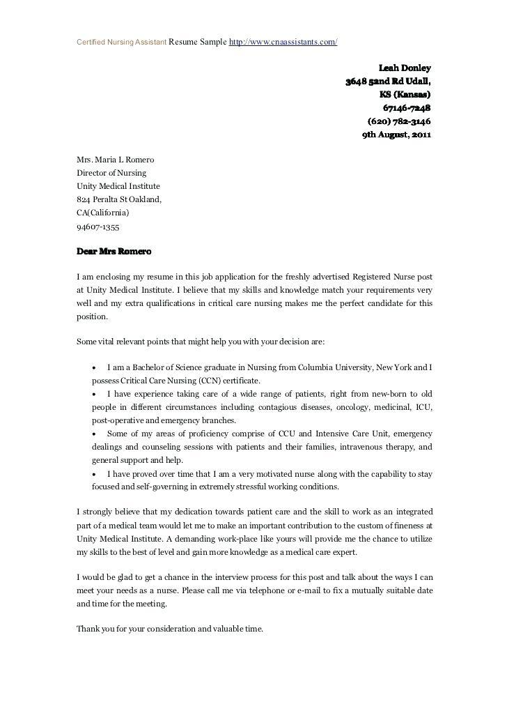 Cover Letters For Resumes Examples In General
