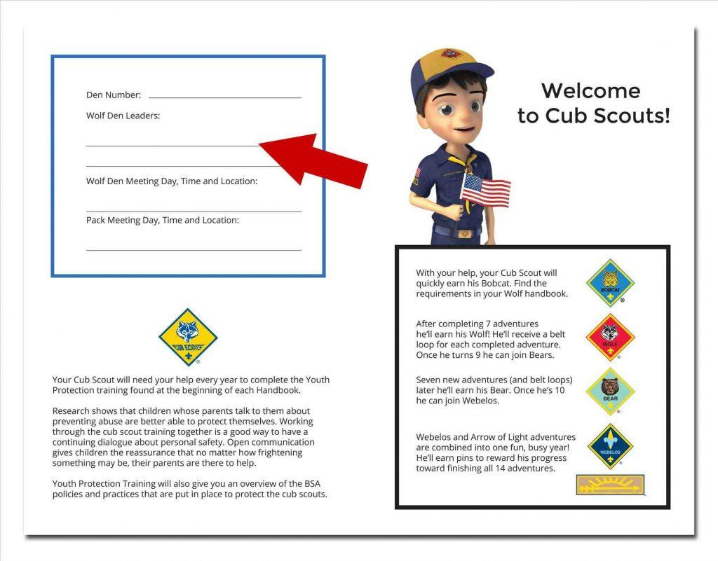 Cub Scout Pack Newsletter Template