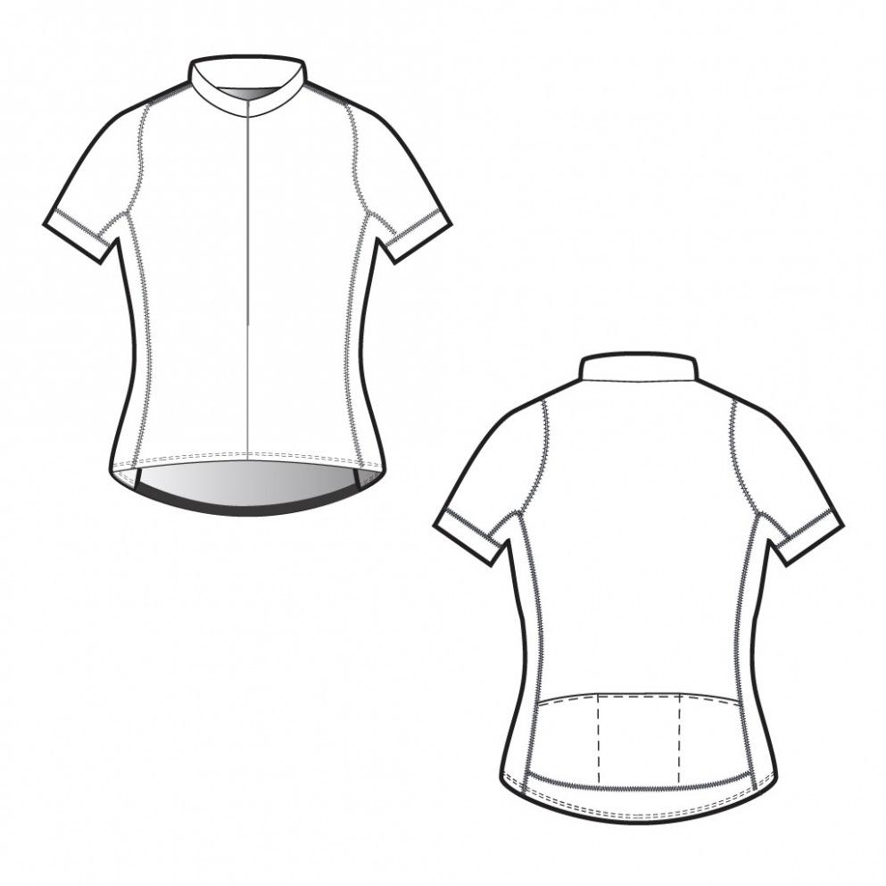 Cycling Jersey Template Download