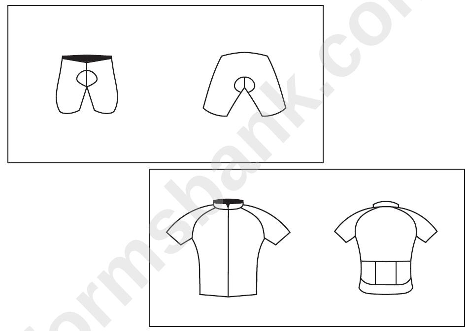 Cycling Jersey Template Pdf