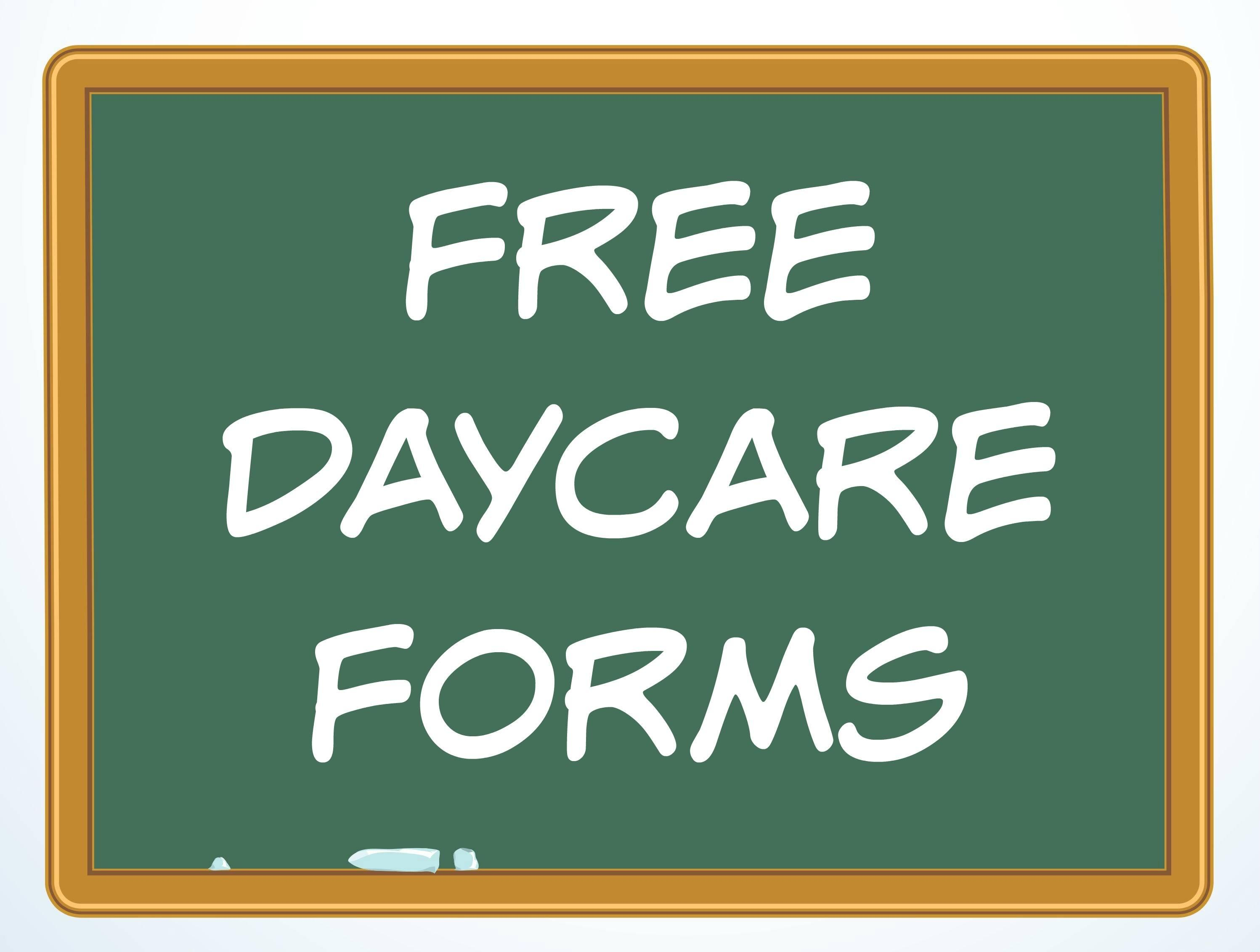 Daycare Contract Templates Free