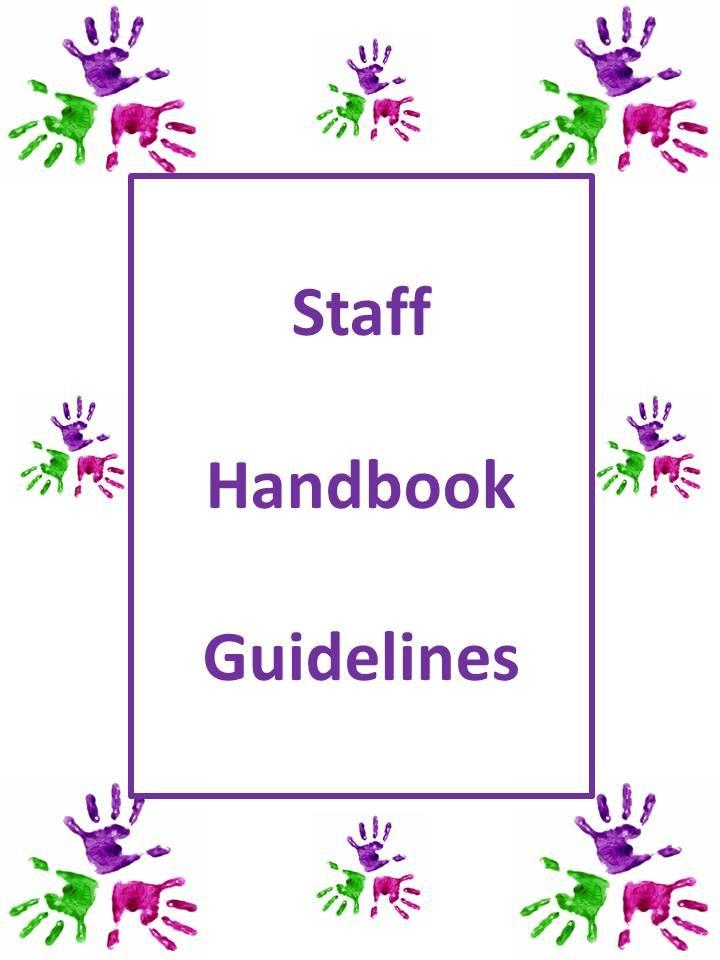 Daycare Staff Handbook Sample
