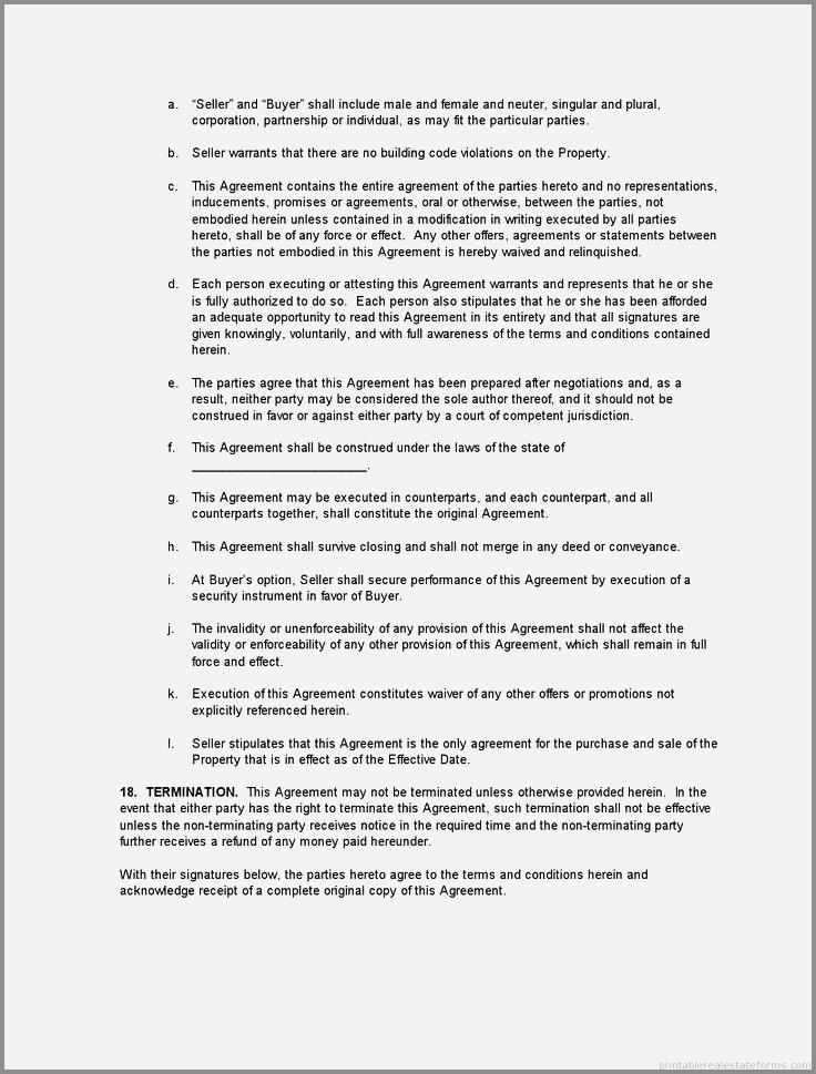 Deed Of Conveyance Template