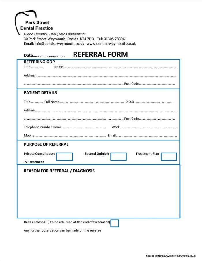 Dental Treatment Consent Form Spanish