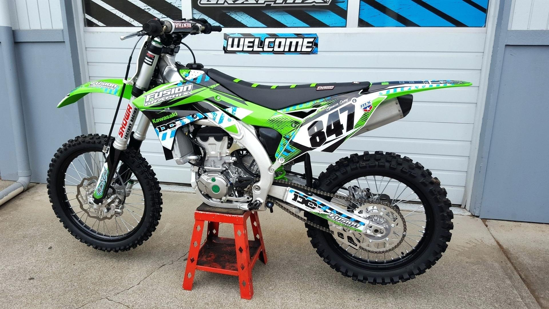Dirt Bike Graphics Templates Free