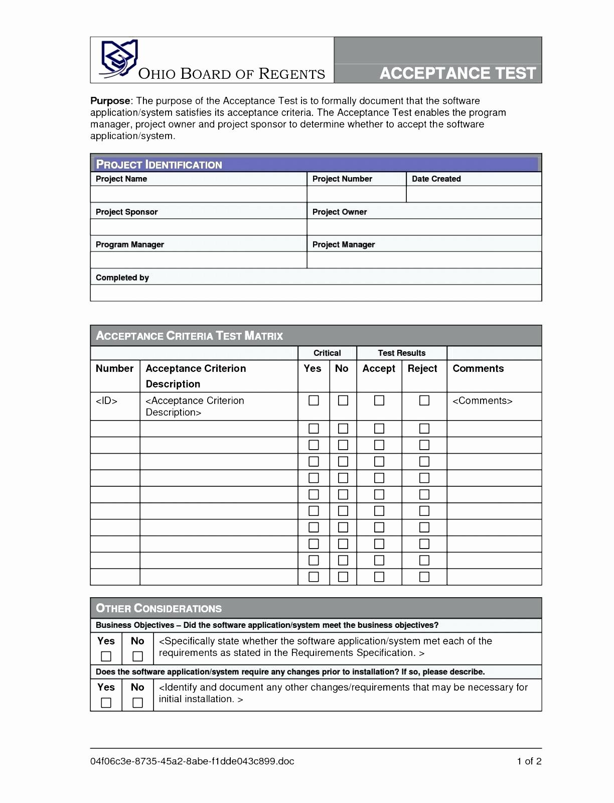 Disaster Recovery Plan Template Doc