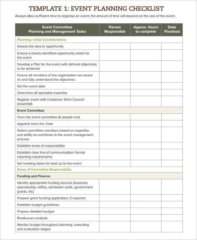 Discharge Planning Checklist Template