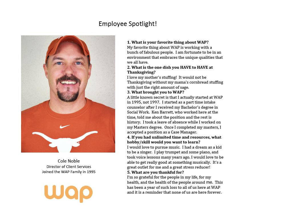 Employee Spotlight Questionnaire Template