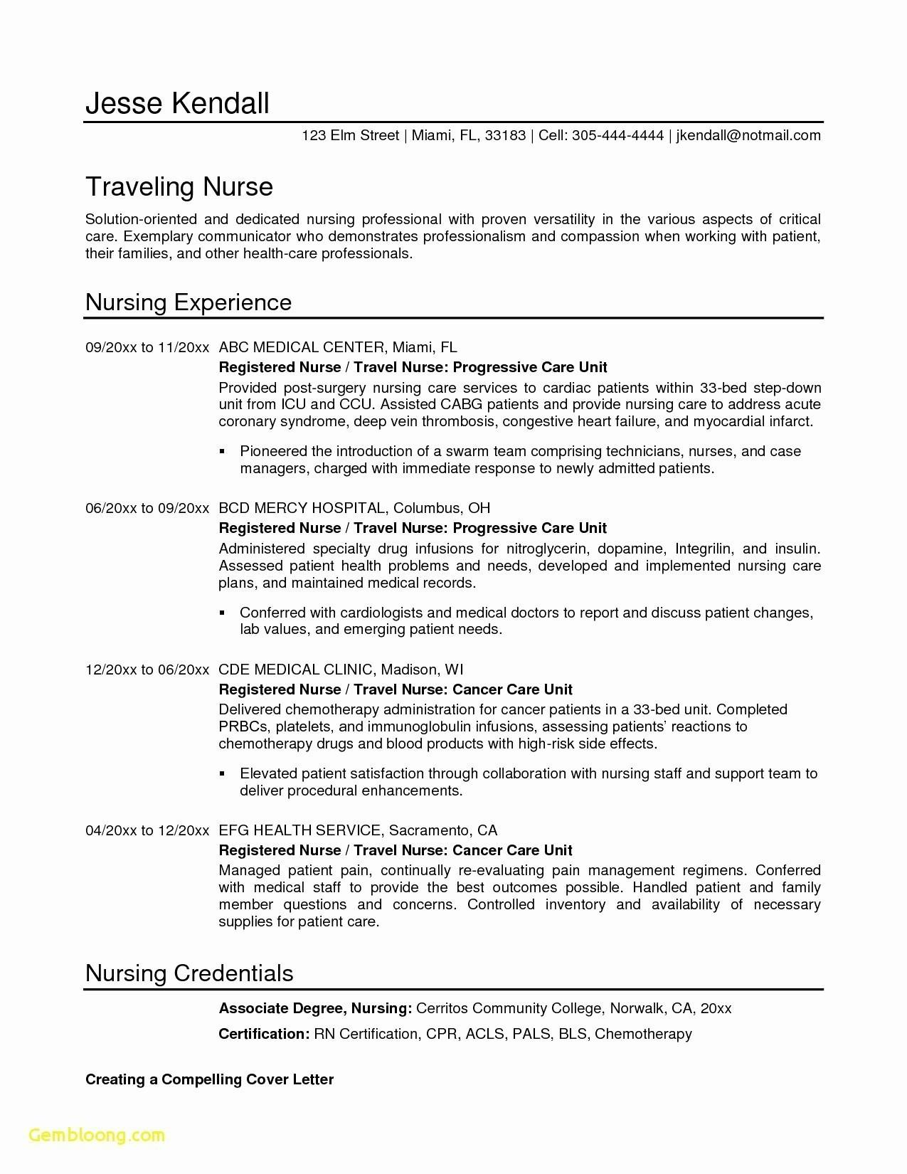 Free Printable Resume And Cover Letter Templates