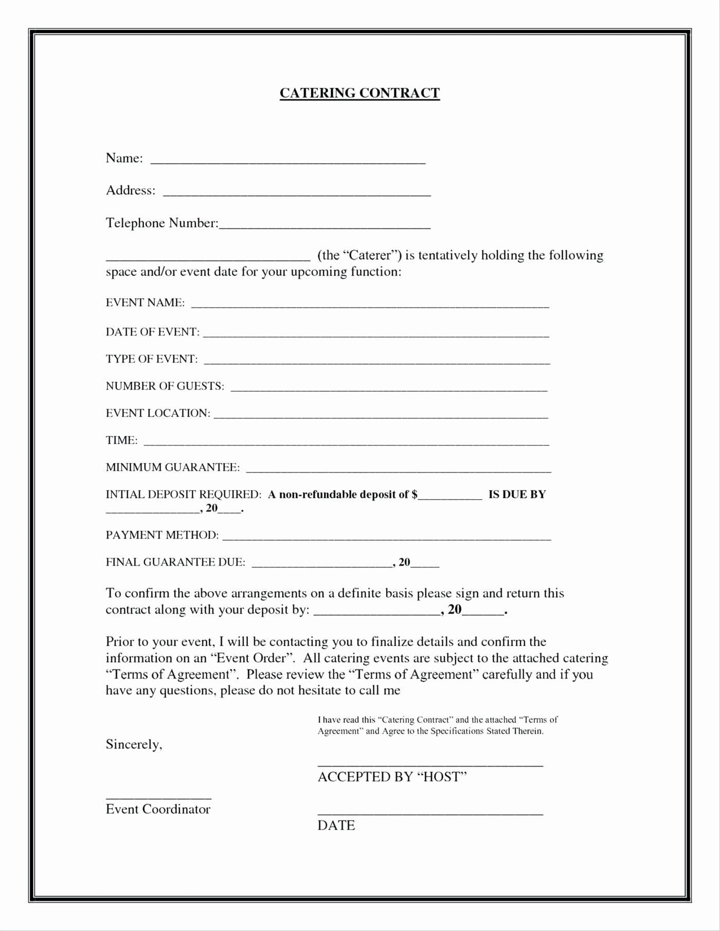 Layaway Plan Contract Template
