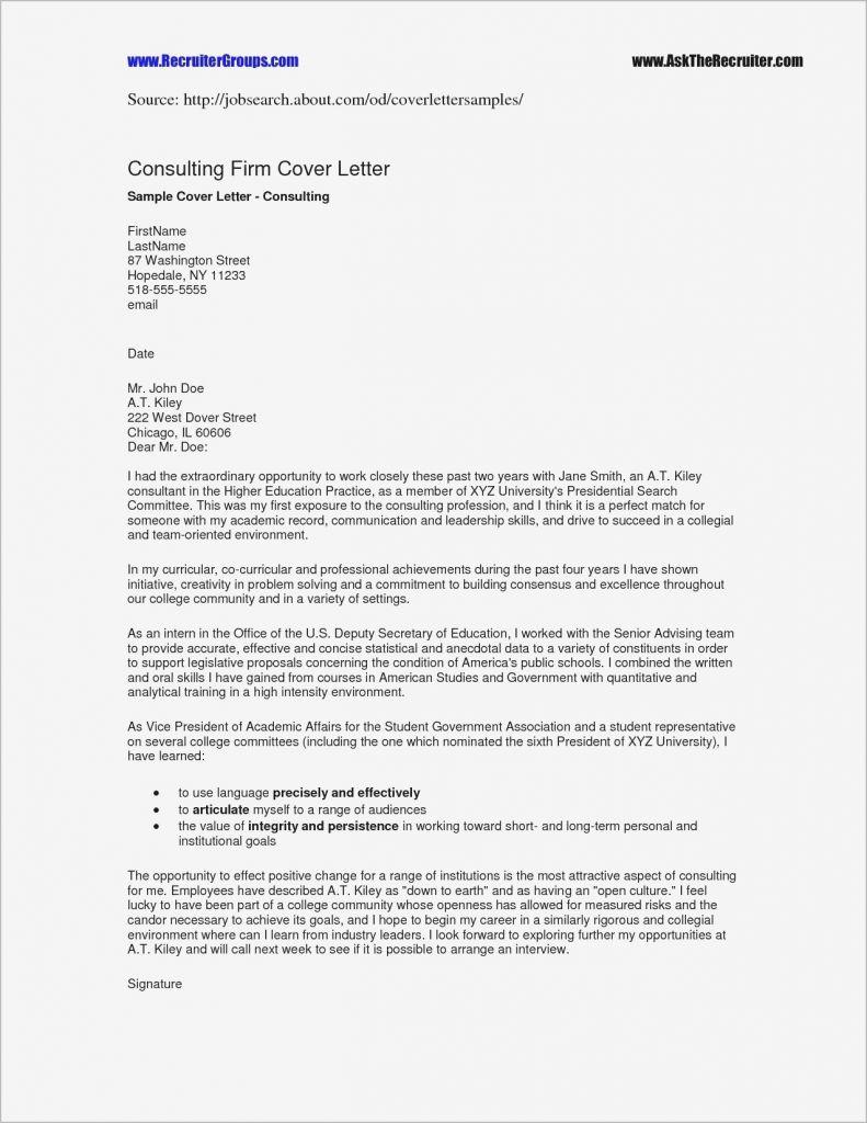 Letter Of Engagement Consulting Template