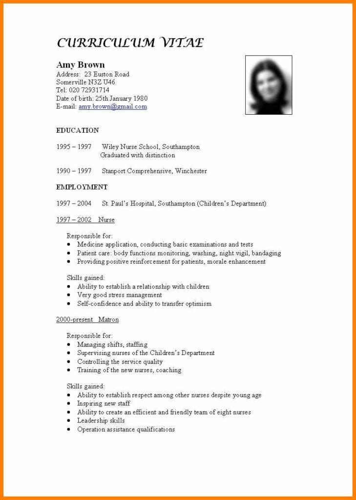 Resume Template For Experienced Sales Professional
