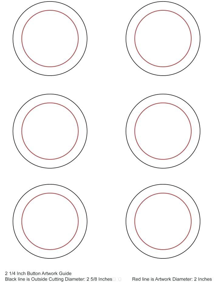 1 34 Round Label Template