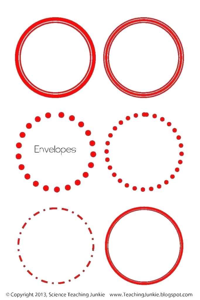 1 Circle Label Template Free