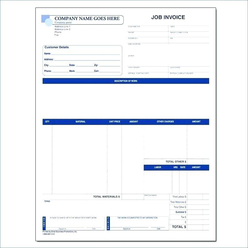 1099 Invoice Template Excel