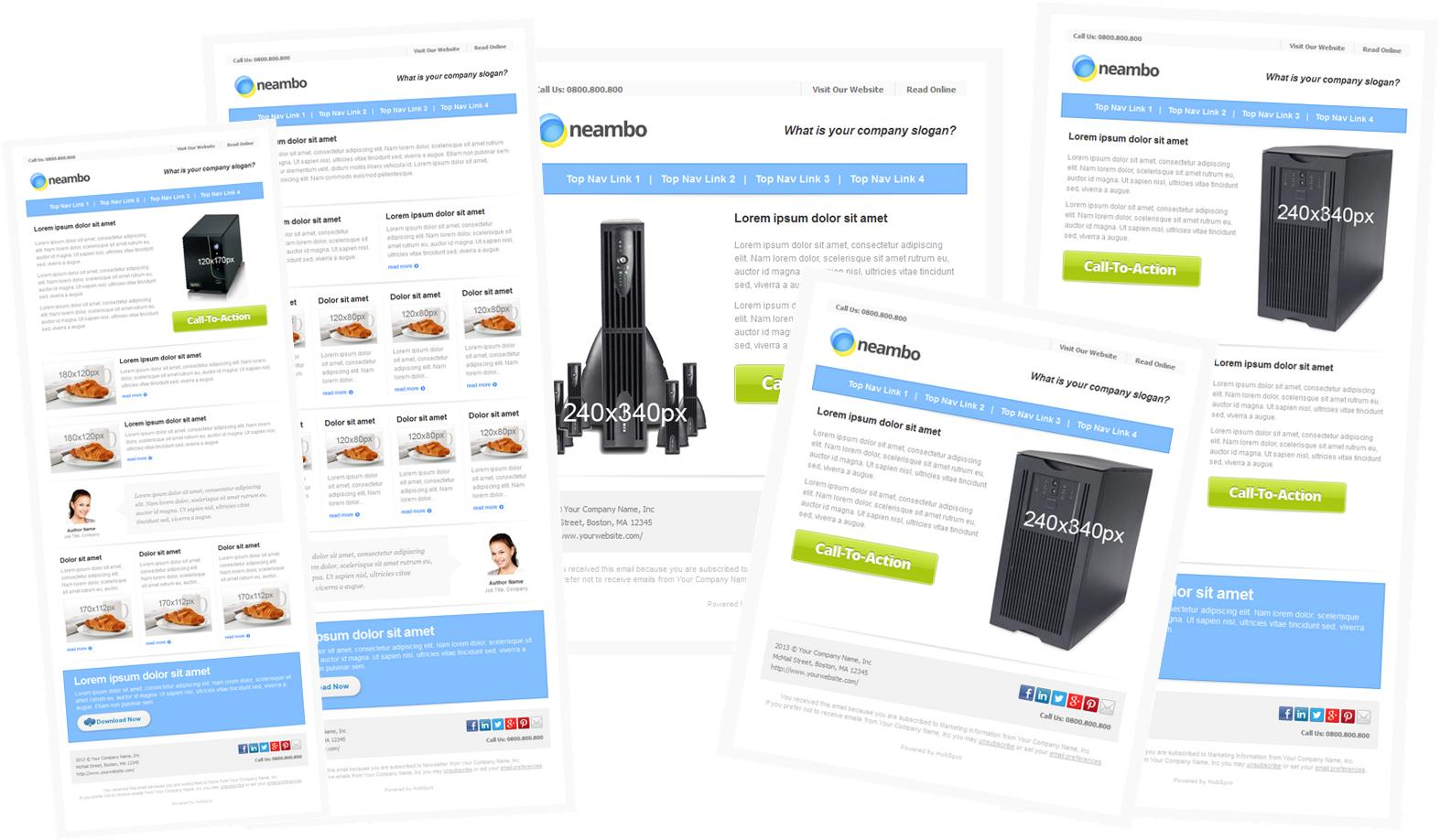 12 Free Email Marketing Templates For Small Businesses