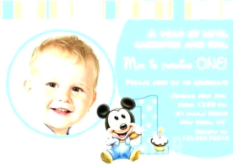 1st Birthday Invitations Templates Free Boy