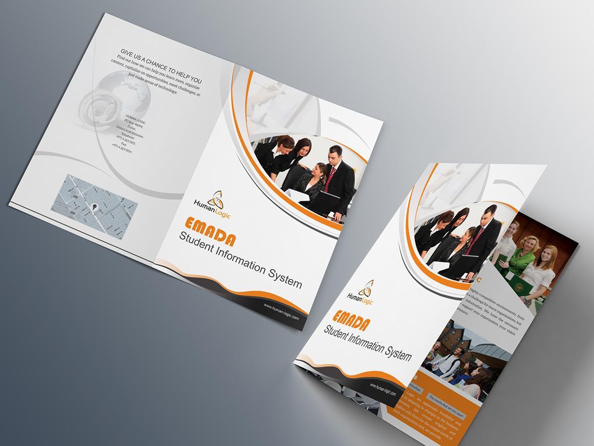 2 Fold Brochure Templates Free