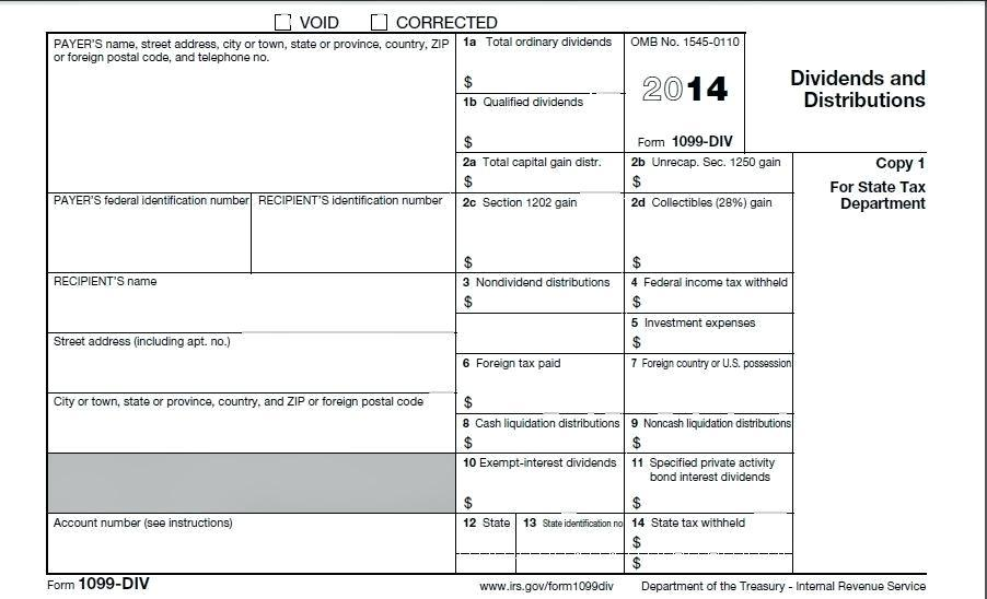 2014 Form 1096 Template