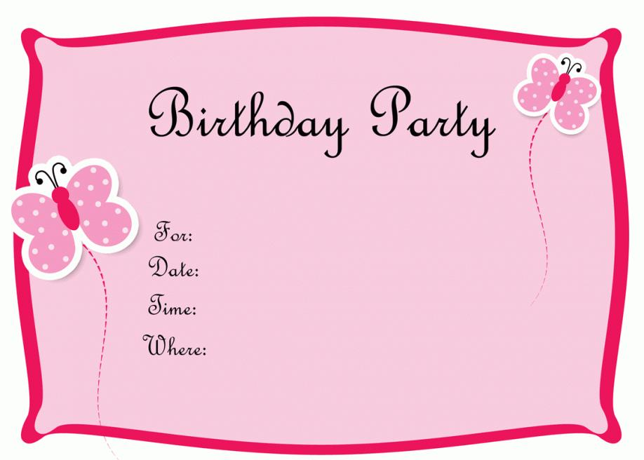 21st Birthday Invitation Templates Free Download