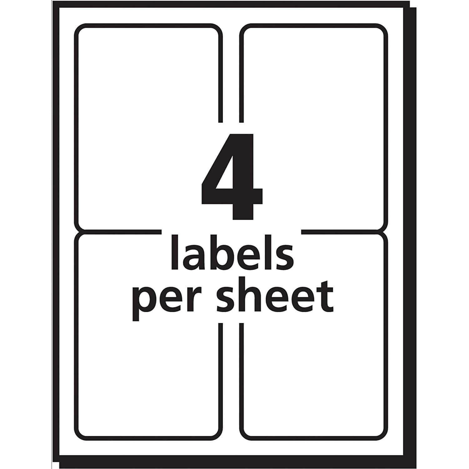 24 Labels Per Sheet Template