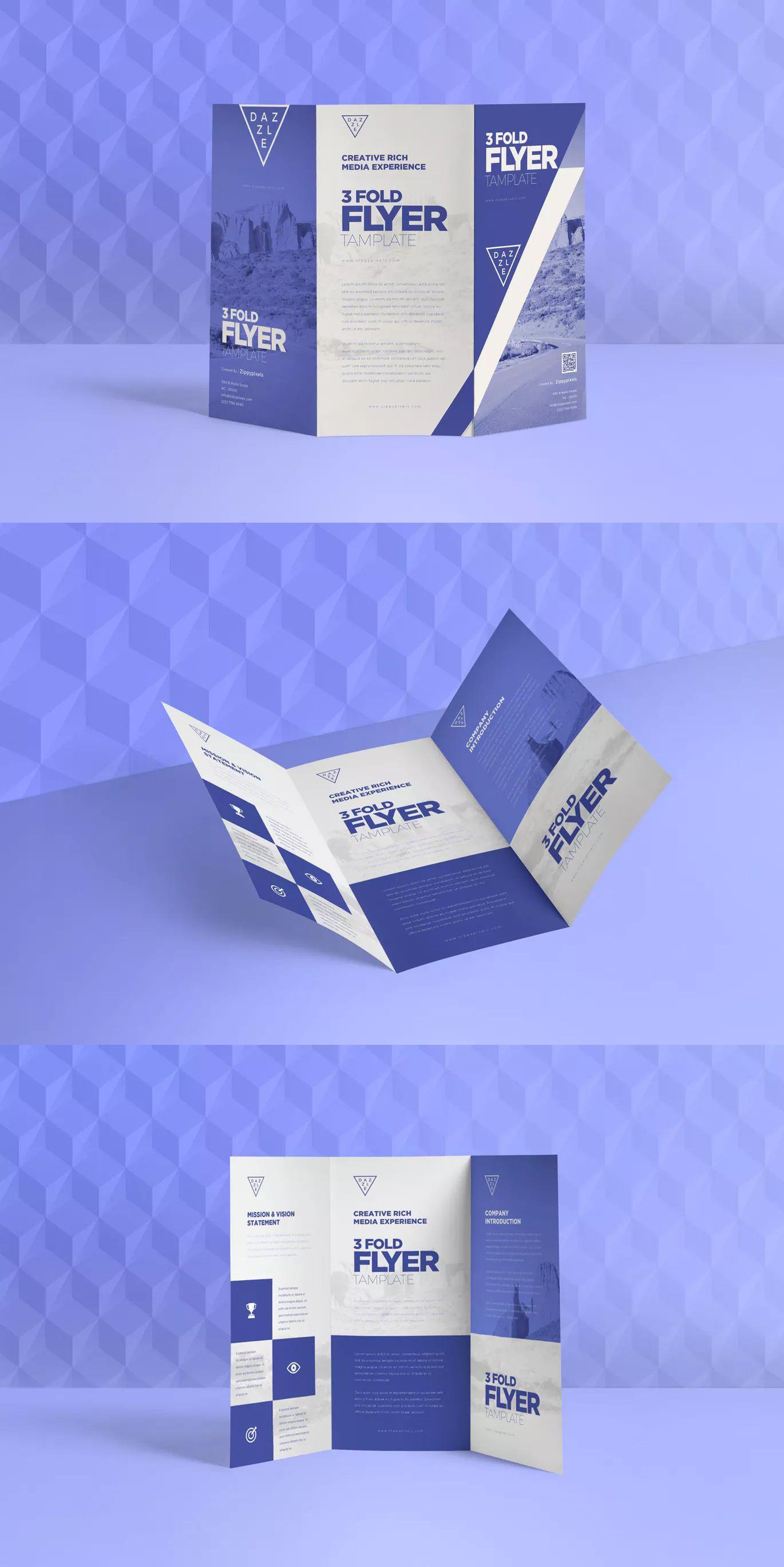 3 Fold Flyer Templates