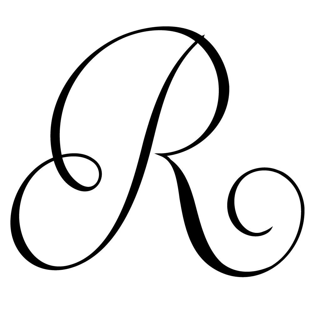 3 Letter Monogram Template Free