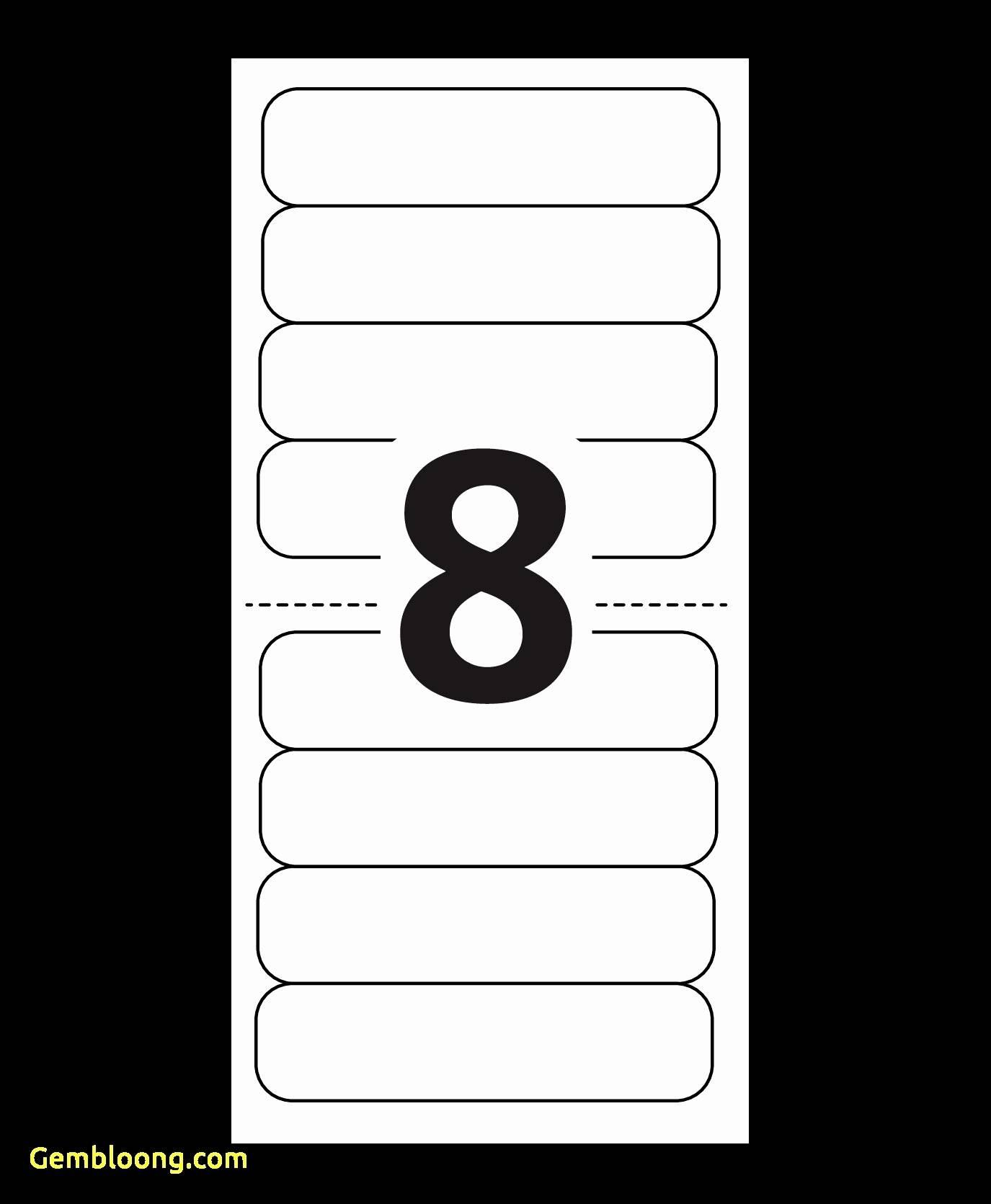 30 Labels Per Sheet Template Excel