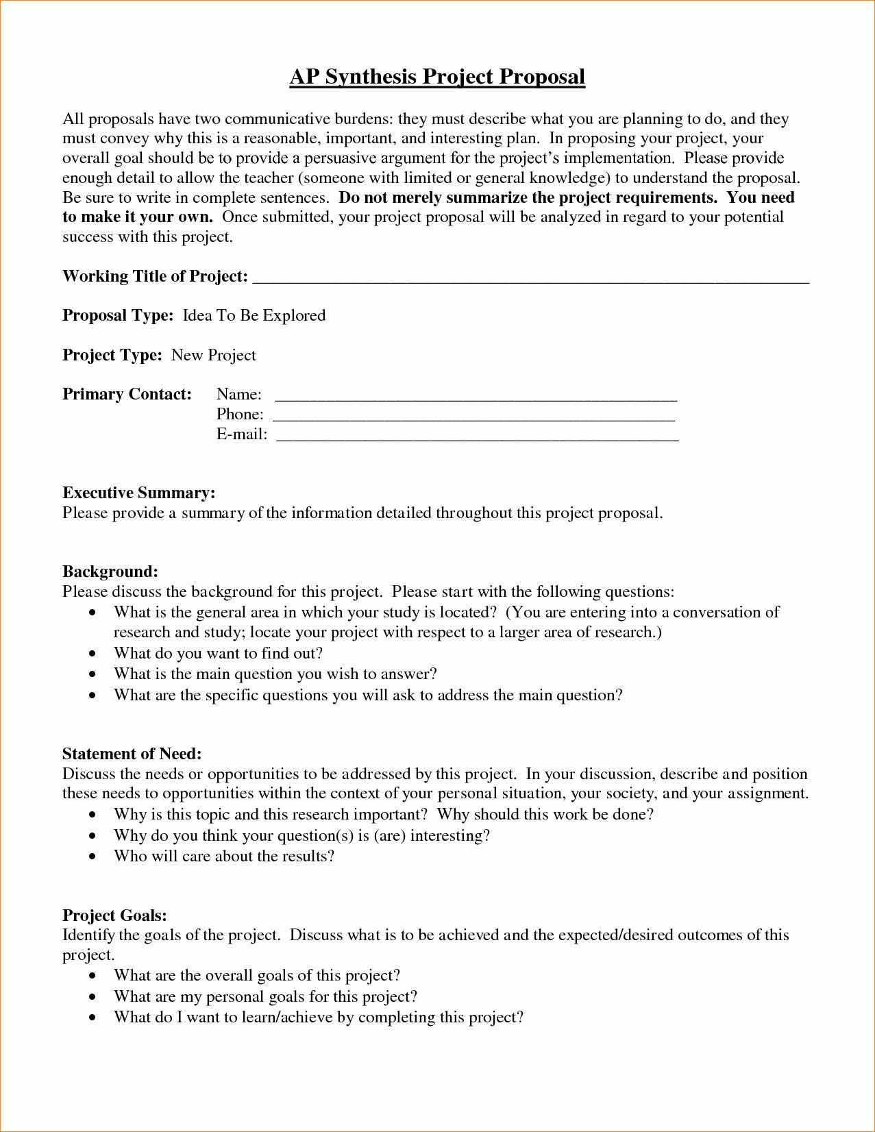 3pl Request For Proposal Template