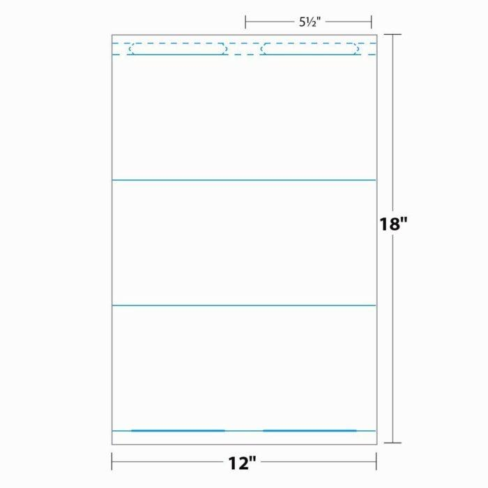 3×4 Vertical Name Badge Template