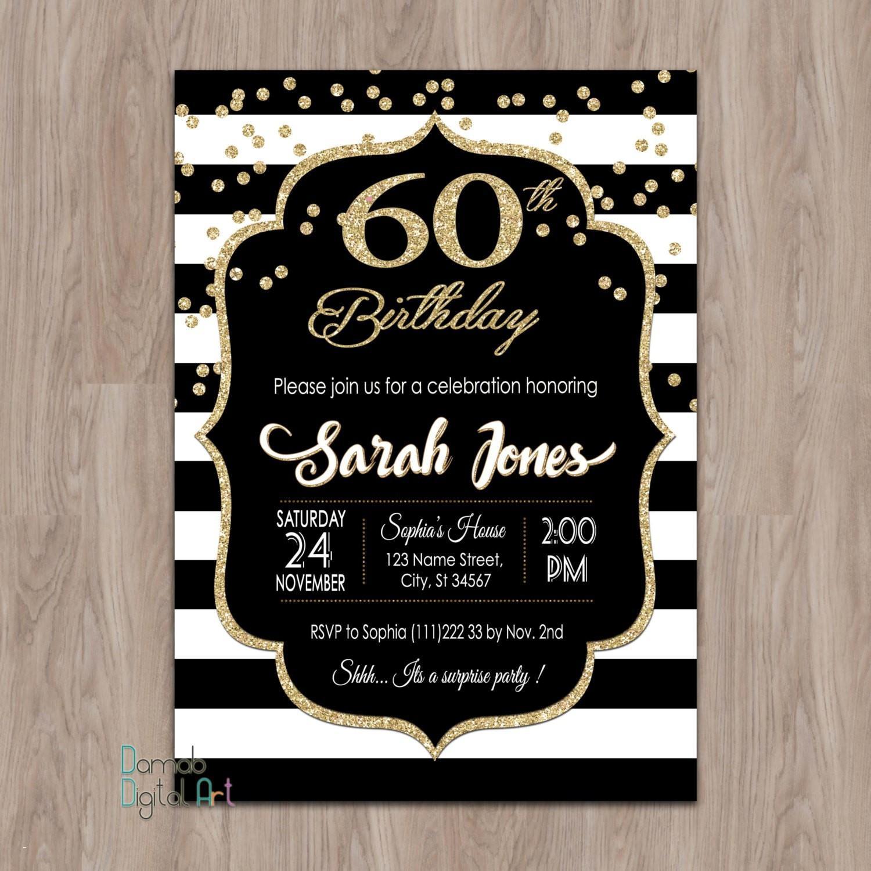 40th Invitation Templates Free