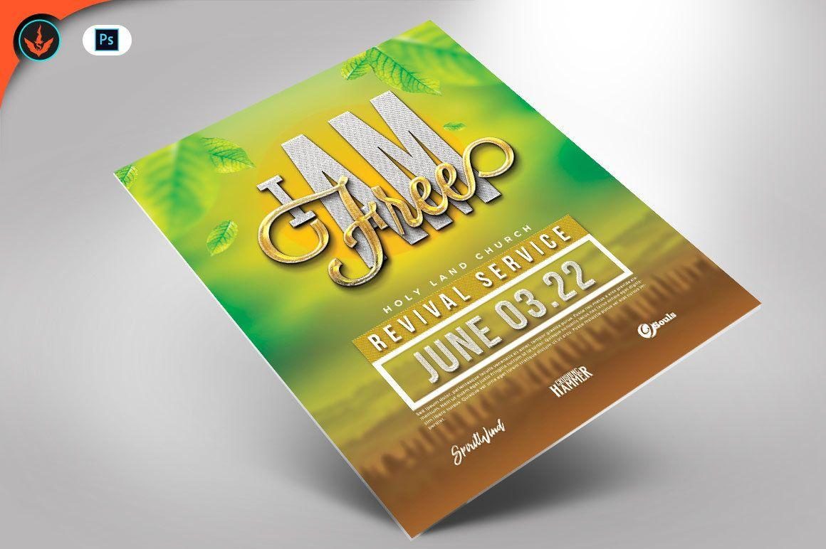 4×6 Flyer Template Free