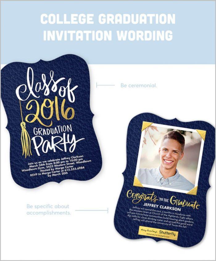 4×6 Graduation Invitation Templates