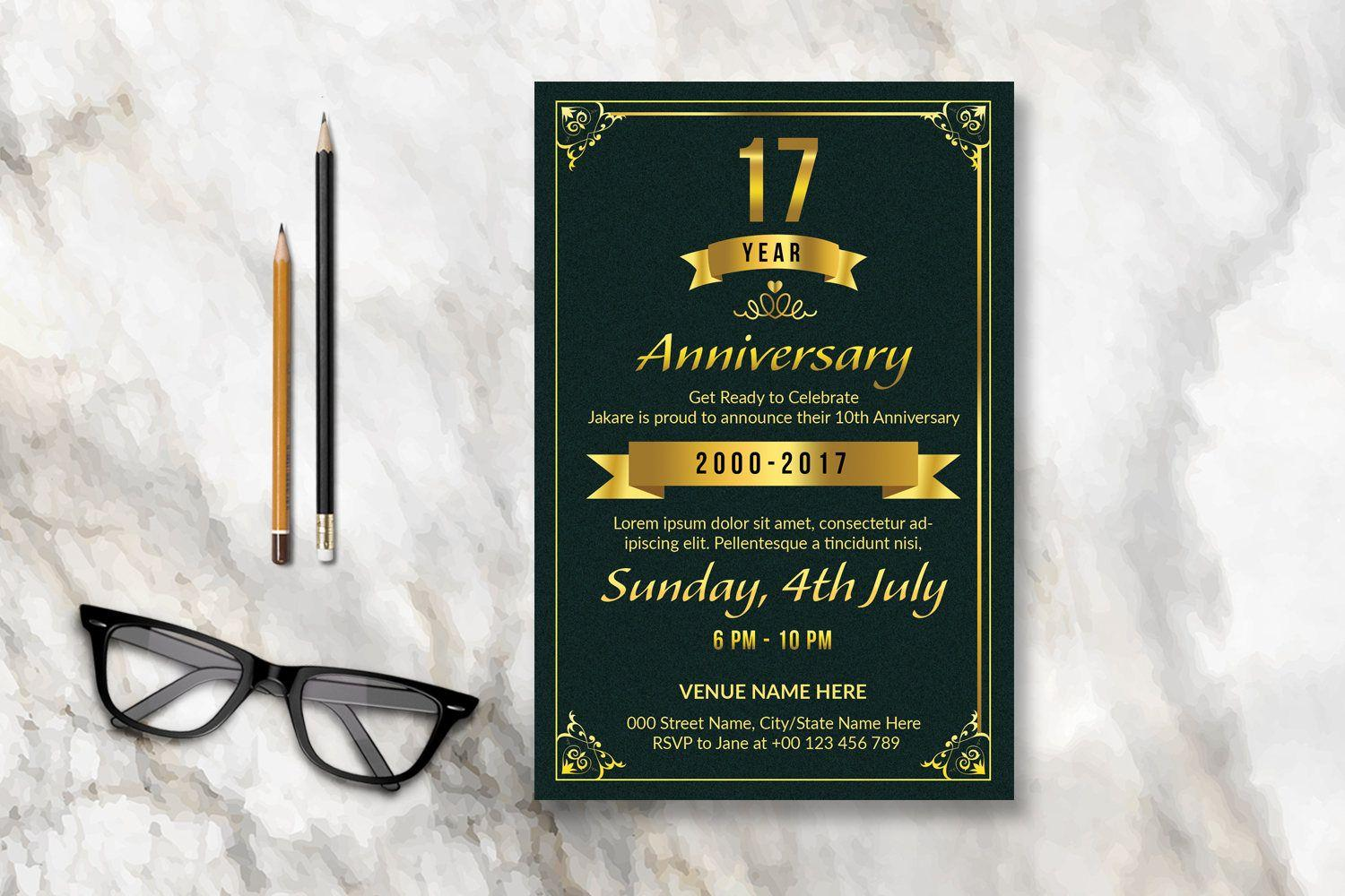 4×6 Invitation Template Photoshop