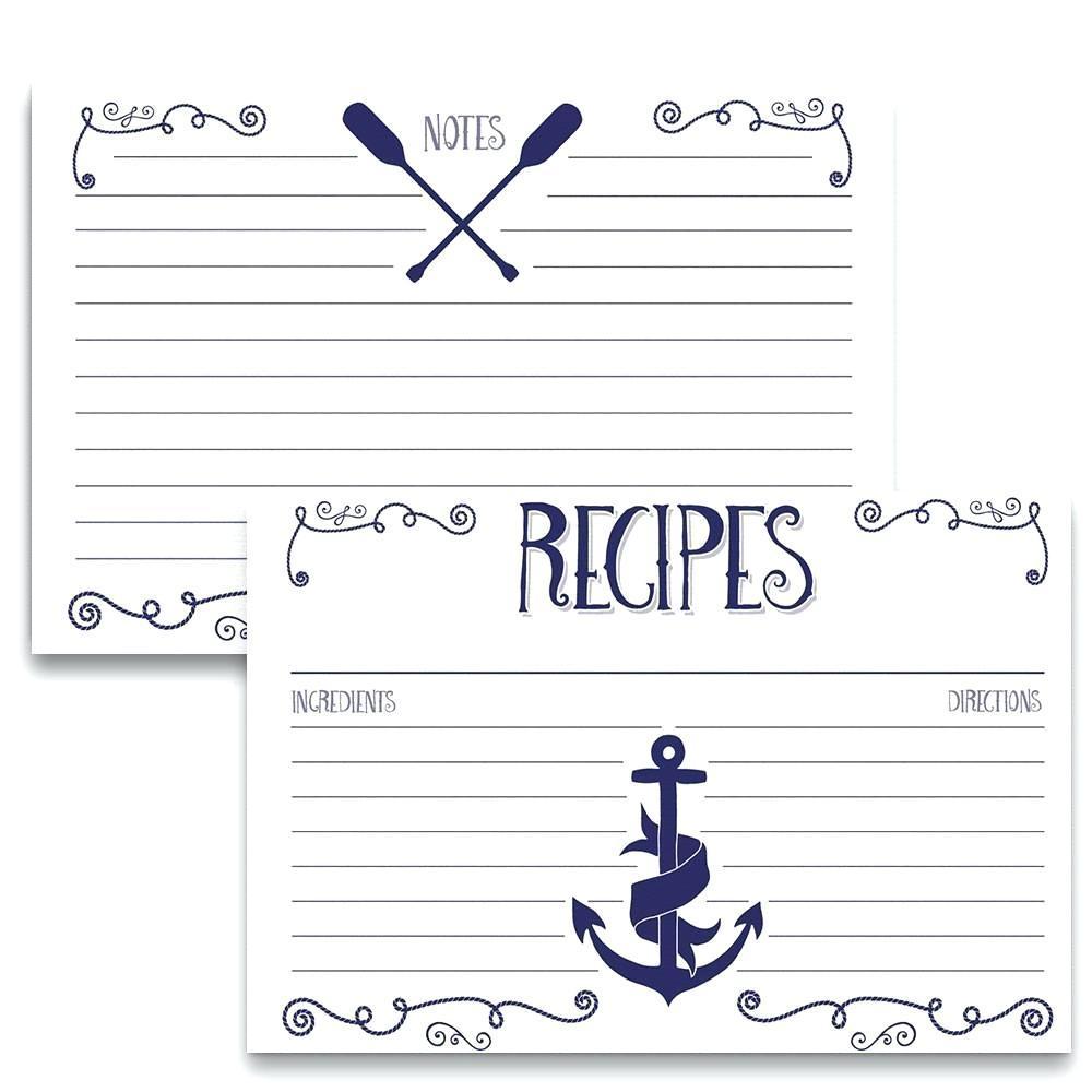 4×6 Recipe Card Template For Mac