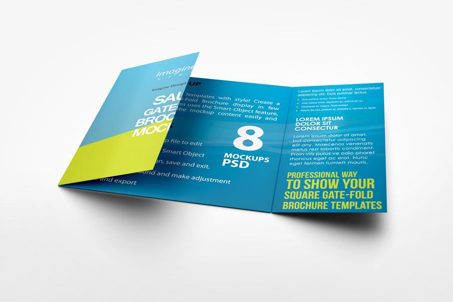 5 Fold Brochure Template Free
