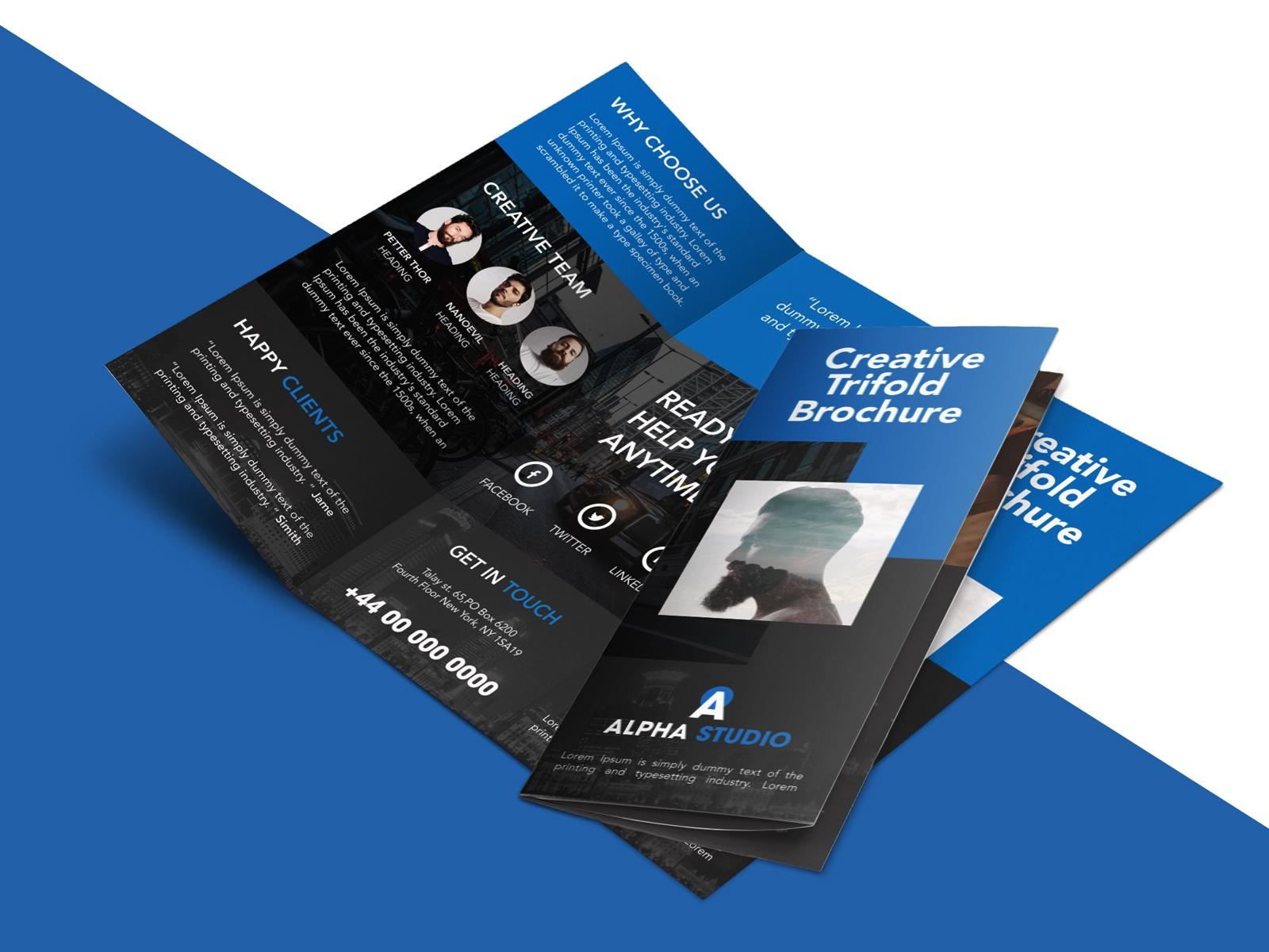 5 Fold Brochure Templates