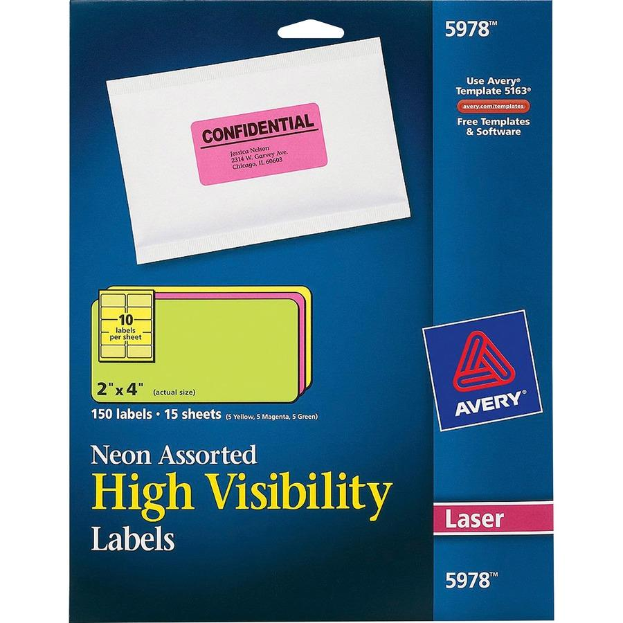 5 Star Inkjet Labels Template