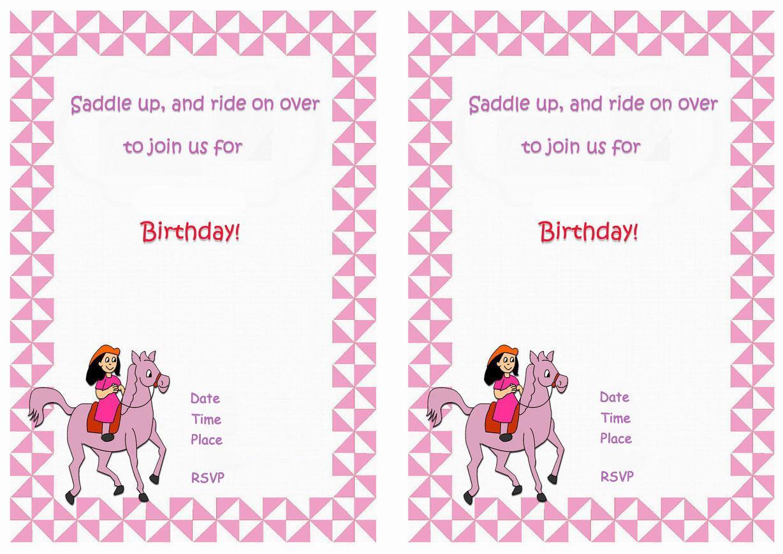 50th Birthday Invites Templates Free