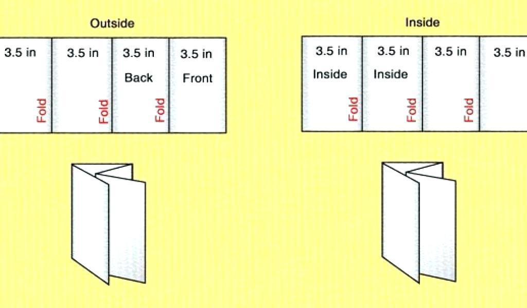 6 Fold Brochure Template