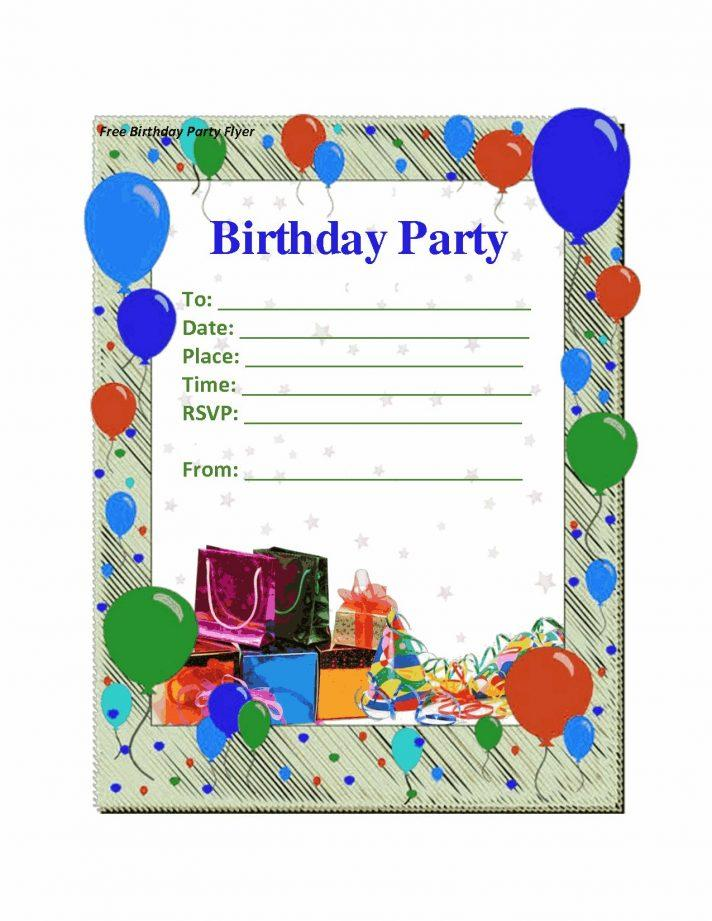 70th Birthday Card Templates Free