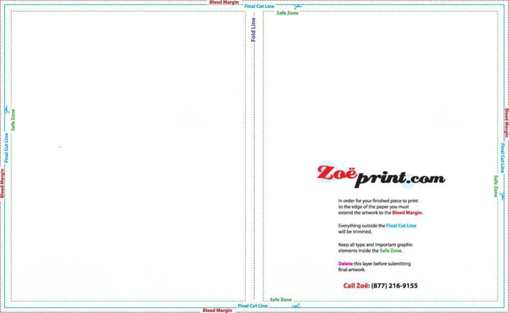 85 X 11 Brochure Template