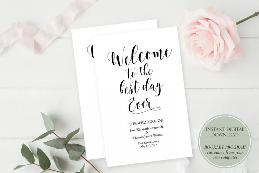 85 X 55 Booklet Template