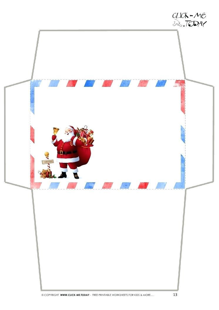 A2 Envelope Return Address Template