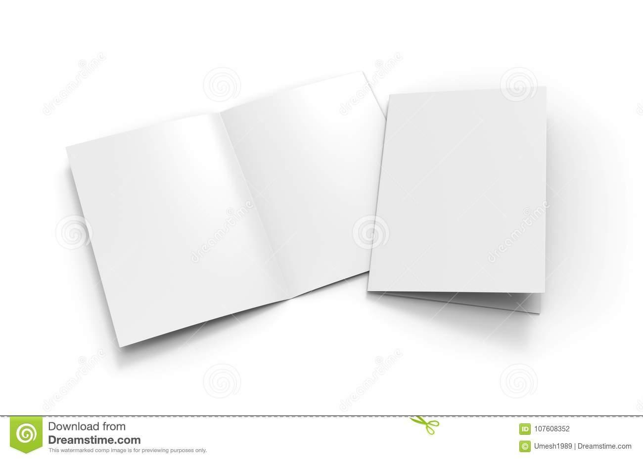 A3 Half Fold Brochure Template