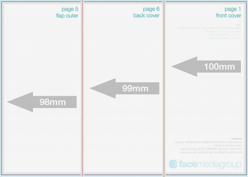 A4 Brochure Template Photoshop Free Download